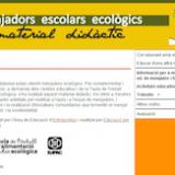Menjadors escolars ecològics: material didàctic