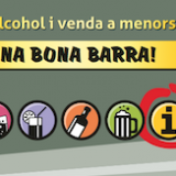 Una bona barra! Alcohol i venda a menors