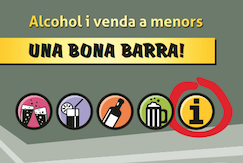 Una bona barra! Alcohol i venda a menors