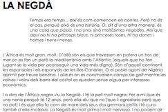 La Negdà -una noia africana